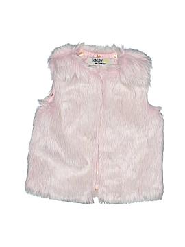 Genuine Kids from Oshkosh Faux Fur Vest Size 2T - 3T