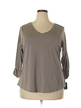 Style&Co 3/4 Sleeve T-Shirt Size 1X (Plus)