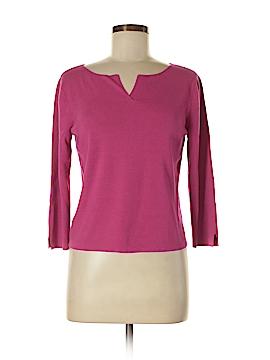 Sigrid Olsen Sport 3/4 Sleeve Blouse Size M