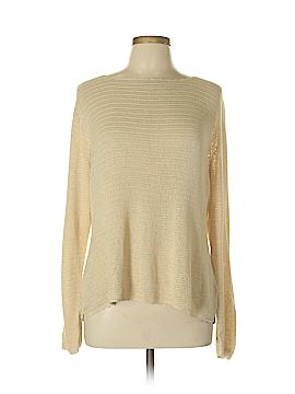 Sigrid Olsen Silk Pullover Sweater Size L