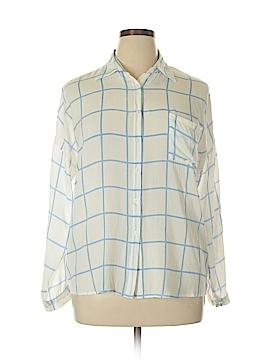 Ya Los Angeles Long Sleeve Button-Down Shirt Size L