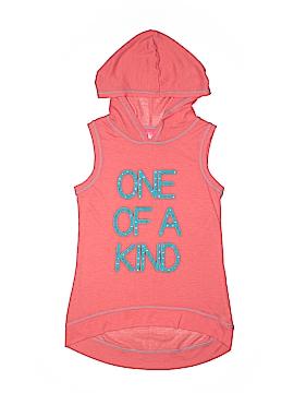 J. Khaki Pullover Hoodie Size L (Kids)