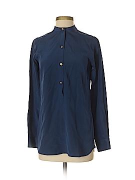 C. Wonder Long Sleeve Silk Top Size XXS