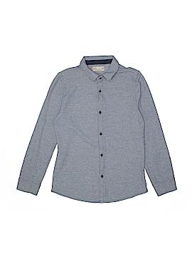Zara Long Sleeve Button-Down Shirt Size 140 (CM)