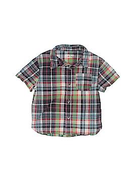 Cherokee Short Sleeve Button-Down Shirt Size 2T