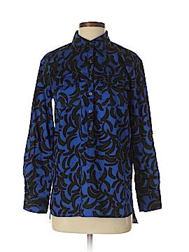 Dana Buchman Long Sleeve Blouse Size S