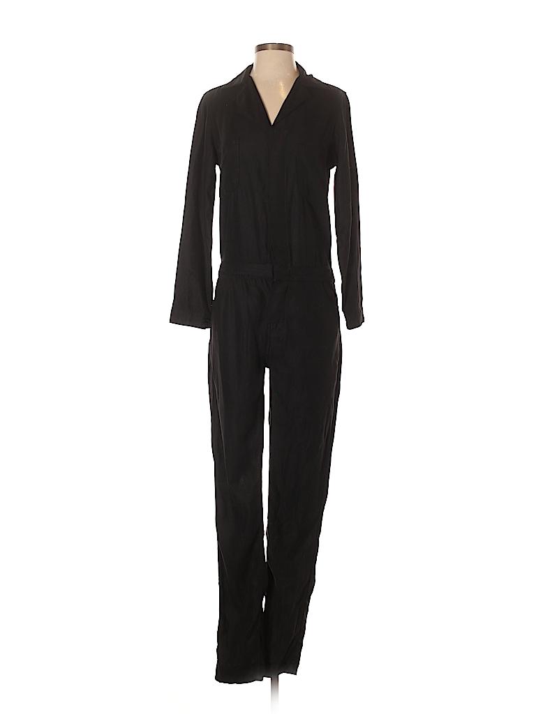 b49603b4a32e Etienne Marcel Solid Black Jumpsuit Size M - 74% off