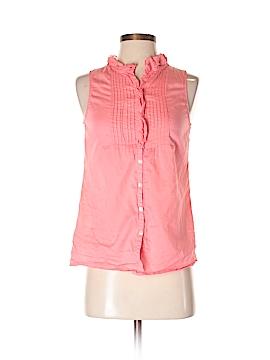 Hollister Sleeveless Button-Down Shirt Size XS