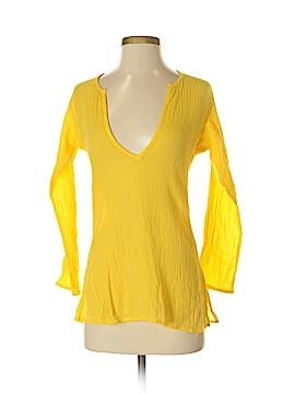 C&C California 3/4 Sleeve Blouse Size S