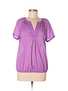 St. John Short Sleeve Blouse Size M
