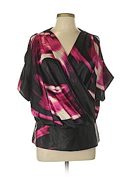 DKNYC 3/4 Sleeve Blouse Size 10
