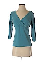 New York & Company Women 3/4 Sleeve Top Size XS