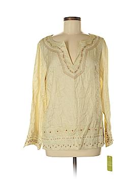 Sigrid Olsen Long Sleeve Blouse Size 8