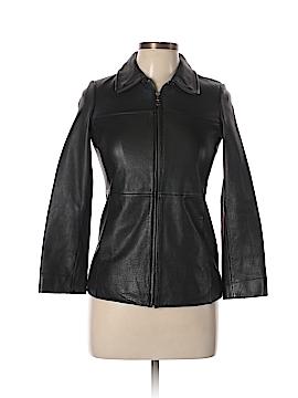 Copper Key Leather Jacket Size 10 - 12