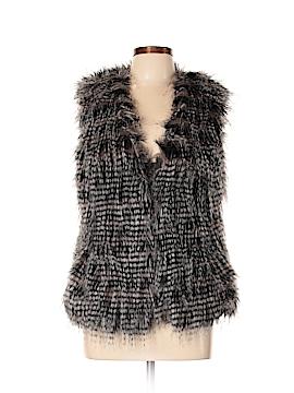 Neu Look Faux Fur Vest Size 38 (EU)