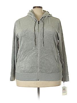 Calvin Klein Zip Up Hoodie Size 2X (Plus)