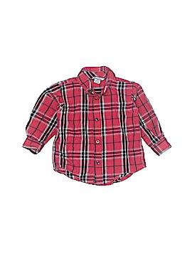 Hartstrings Long Sleeve Button-Down Shirt Size 18 mo