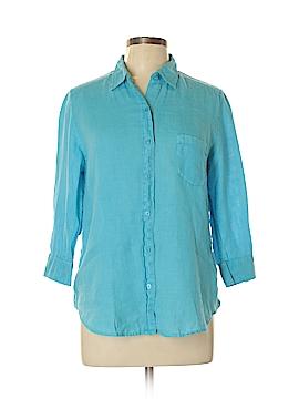 Uniqlo 3/4 Sleeve Button-Down Shirt Size XL