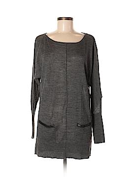 Joan Vass Wool Pullover Sweater Size M