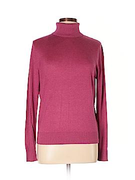August Silk Turtleneck Sweater Size XL