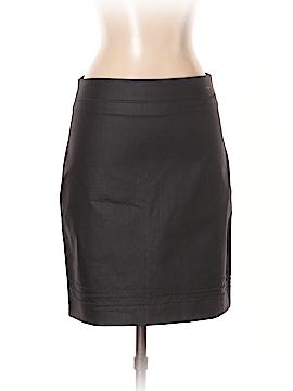 Monoprix Autre Ton Faux Leather Skirt Size 36 (EU)