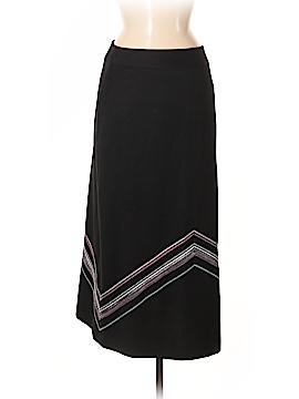 Garnet Hill Wool Skirt Size 8