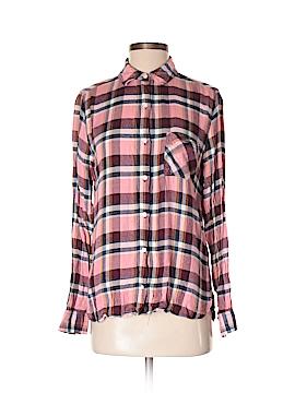 Bongo Long Sleeve Button-Down Shirt Size S
