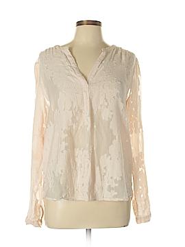Katherine Barclay Long Sleeve Blouse Size L