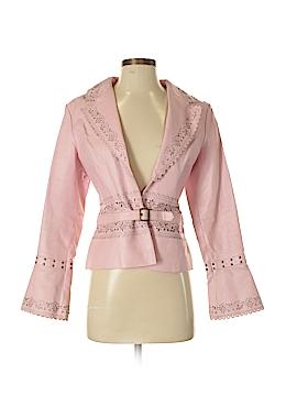 Metro Style Women Leather Jacket Size 4