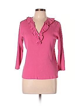 Lauren by Ralph Lauren 3/4 Sleeve Polo Size L