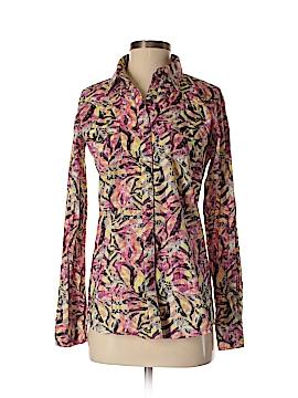 Rock Long Sleeve Button-Down Shirt Size S