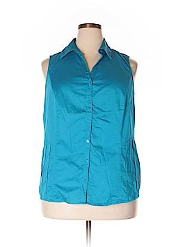 Venezia Sleeveless Blouse Size 18-20 Plus (Plus)