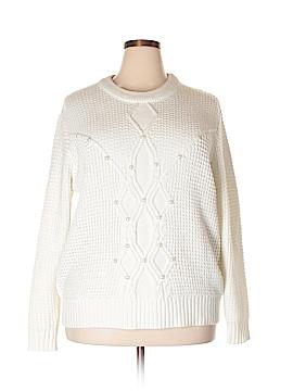 Ava & Viv Pullover Sweater Size 2X (Plus)