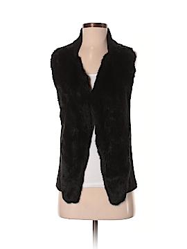 Alfani Faux Fur Vest Size S (Petite)