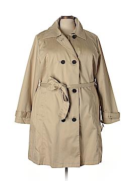 Merona Trenchcoat Size 4X