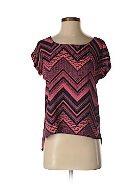 Pink Republic Short Sleeve Blouse Size S