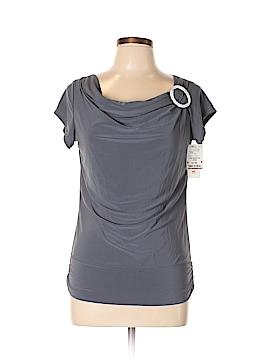 American City Wear Short Sleeve Top Size L (Petite)