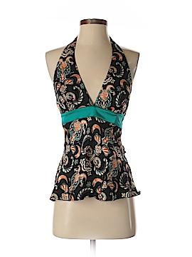 Nicole Miller Sleeveless Silk Top Size 4