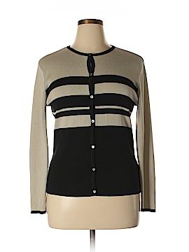 Geoffrey Beene Sport Silk Cardigan Size L