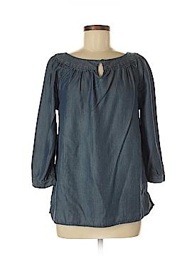 Lands' End 3/4 Sleeve Blouse Size 10 (Petite)