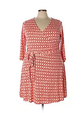 Rush Casual Dress Size 3X (Plus)
