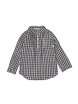 H&M Long Sleeve Button-Down Shirt Size 7-8