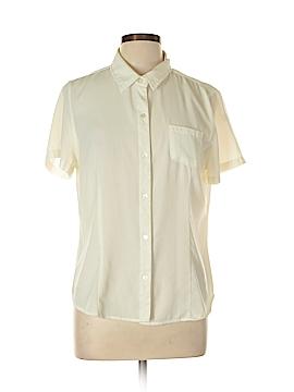 Laura Scott Short Sleeve Blouse Size L
