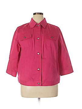 Chaps Denim Jacket Size 1X (Plus)