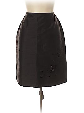 Casual Corner Silk Skirt Size 10