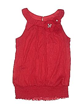 A. Byer Sleeveless Blouse Size L