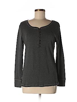 DKNY Long Sleeve Henley Size M