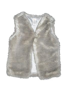 Gymboree Faux Fur Vest Size 7-8