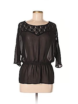 Seven7 Short Sleeve Blouse Size M