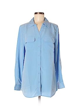 D&Co. Long Sleeve Button-Down Shirt Size M